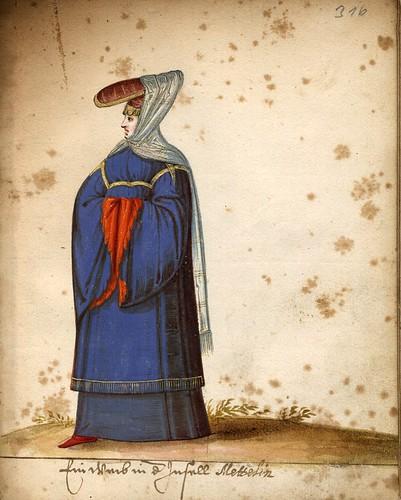014-Mujer de la isla de Lesbos-Türkisches Manierenbuch-1595- ORKA Open Repository Kassel