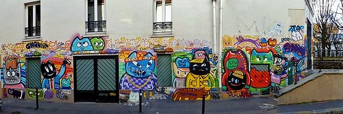 By Chanoir (Paris, Rue du Chat)