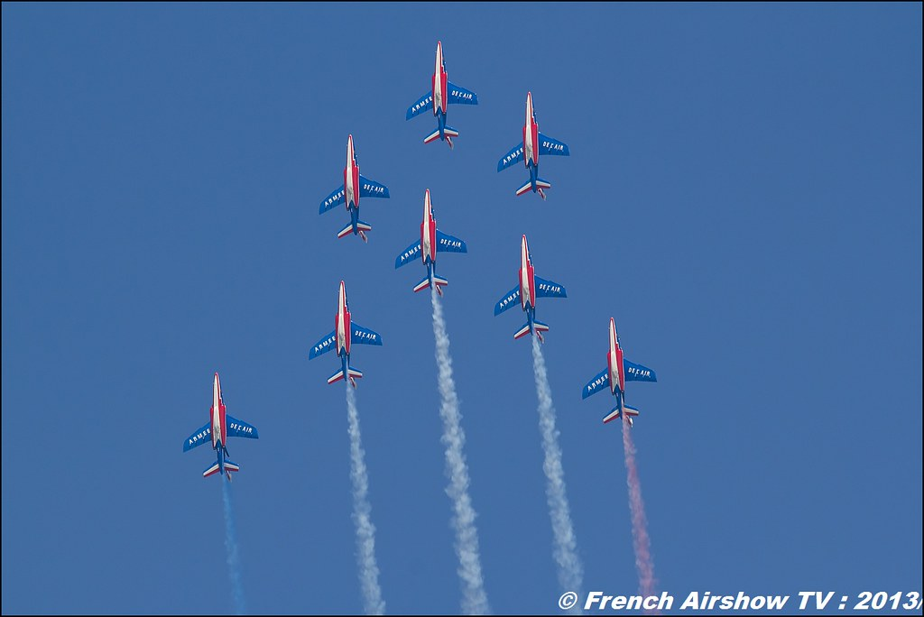 Patrouille de France: 60 ans, Salon BA-701, Meeting Aerien 2013