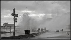 Storm Surge at High Tide