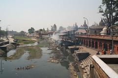Kremacja zwłok w Kathmandu - Crematoria
