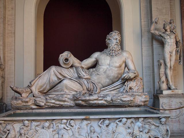 Vatican Museums sculptures