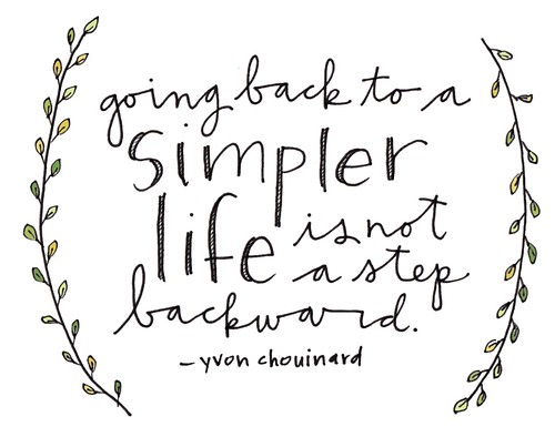 Simple life. | yourwishcake
