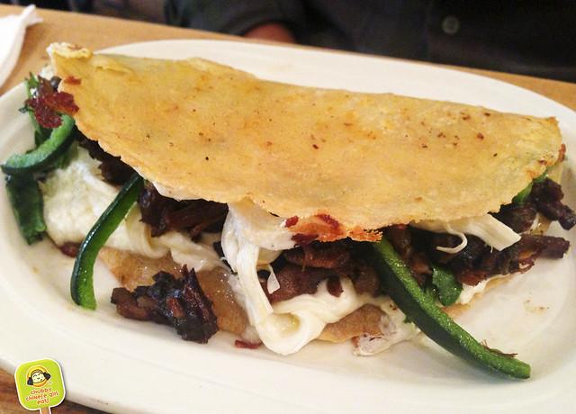 cocina economica - beef cheek quesadilla