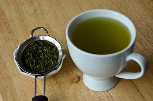 Extra Green Sencha, 2nd Cup