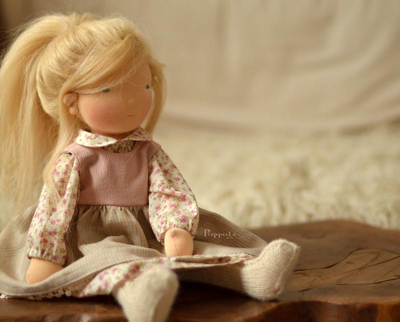 Olinka,  17/18 inch waldorf inspired doll