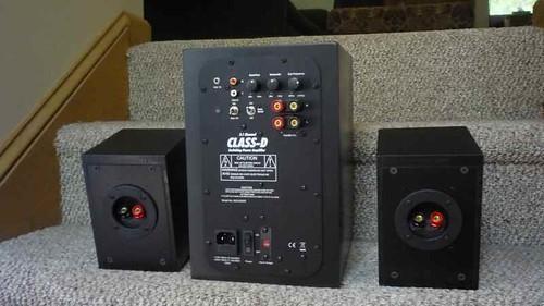 Strange The Peds A 2 1 Speaker System For Your Desk Den Bedroom Download Free Architecture Designs Rallybritishbridgeorg