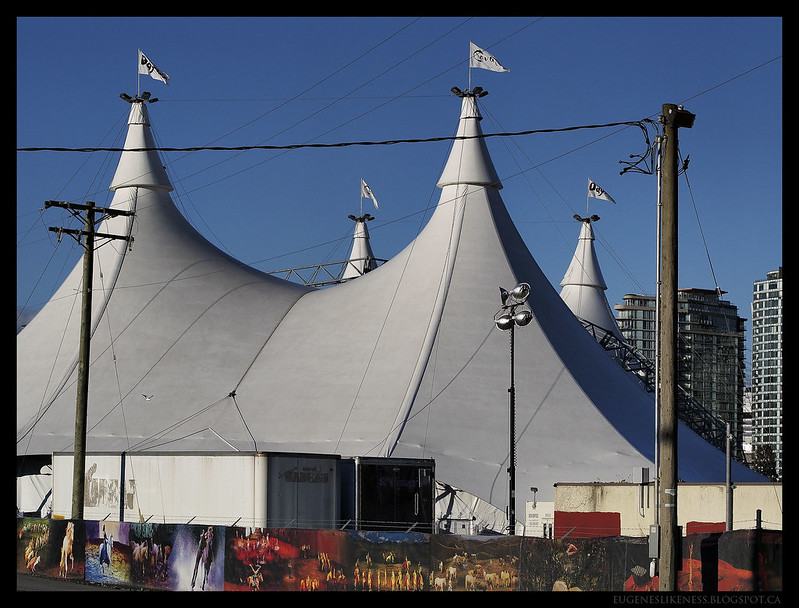 Odysseo by Cavalia Tents in Vancouver II