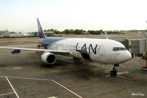 LAN Airlines - Boeing 767-316ER CC-BDB - SCL Airport (Santiago, Chile)