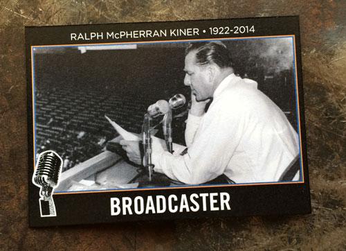 2014 SlangKo Ralph Kiner Broadcaster front