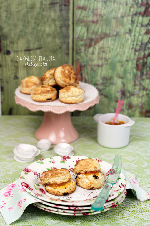 scones all'uvetta