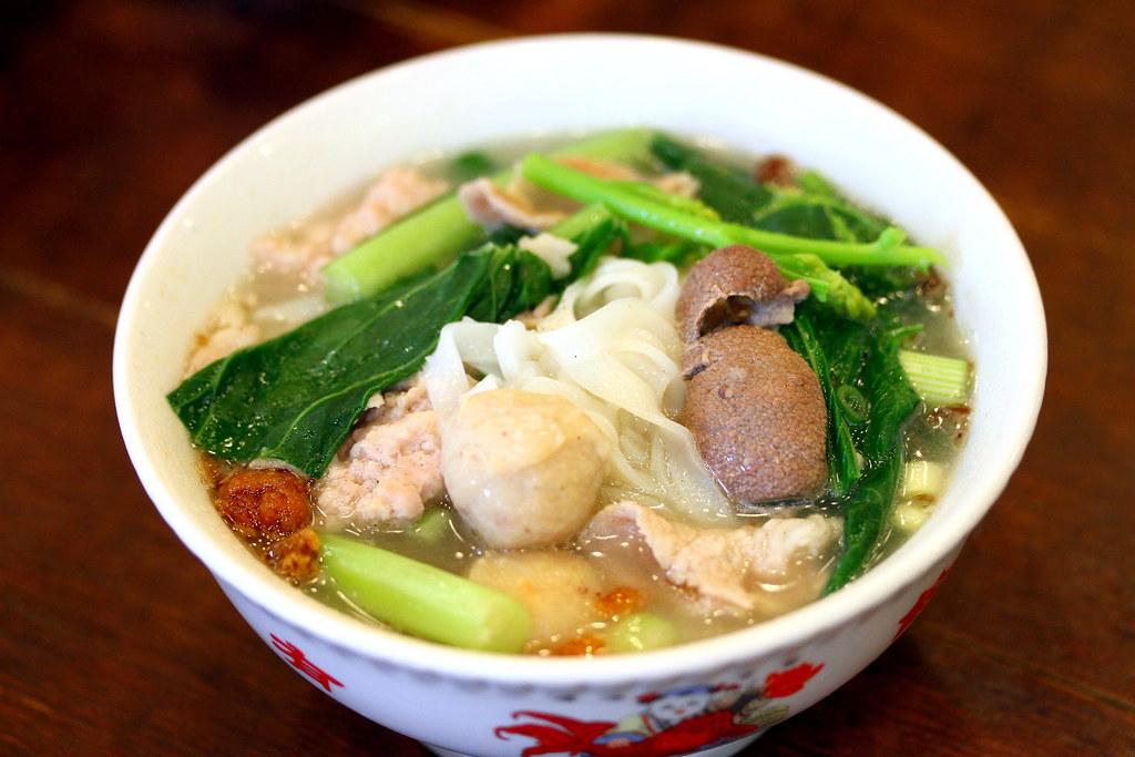 Malaysia Boleh's Hong Kee Pork Noodles 雄记猪肉粉面