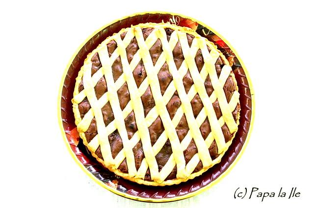 Tarta cu ciocolata si nectarine (11)