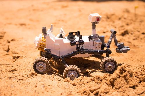 レゴ CUUSOO NASA マーズ・サイエンス・ラボラトリー・キュリオシティ ...