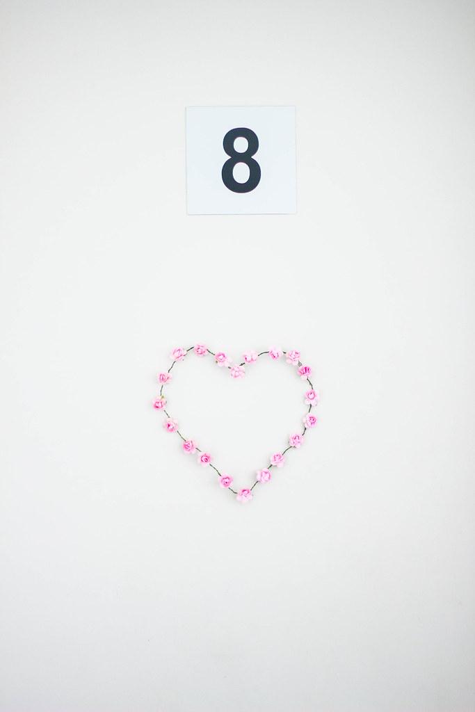 rose heart wreath diy