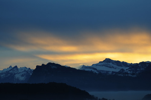 sky sun sunlight mountains alps sunrise switzerland lucerne viewfromhome bürgenstock kriens