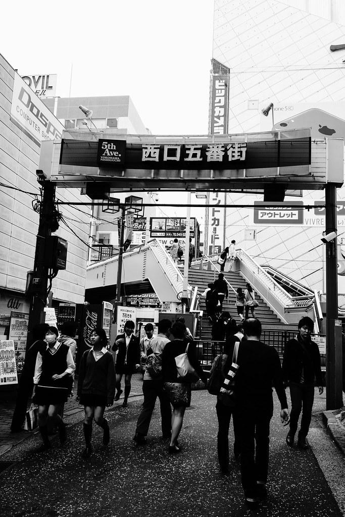 横浜×モノクロ④