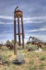 Driveshaft wind chime HDR