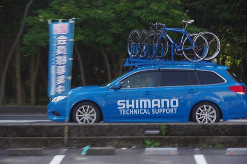 シマノサポートカー