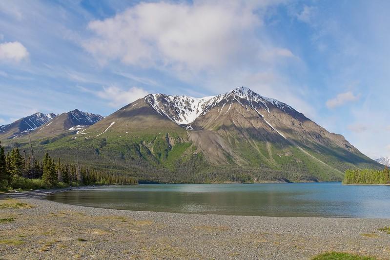King's Throne and Kathleen Lake - Kluane National Park