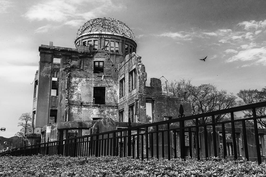 Atomic Bomb Dome or Genbaku Dōmu (原爆ドーム?, A-Bomb Dome)