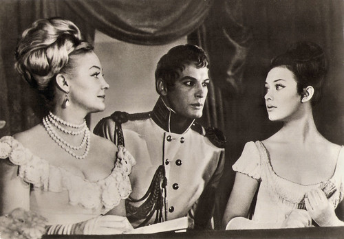 Lyudmila Savelyeva, Irina Skobzeva, Vasili Lanovoiy in War and Peace, 1967