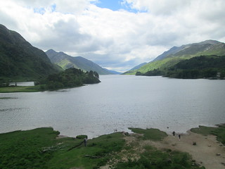 Loch Shiel from monument