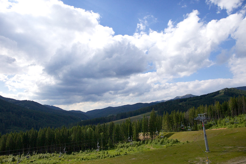 mountains landscape. Bukovel, Carpathians, Ukraine
