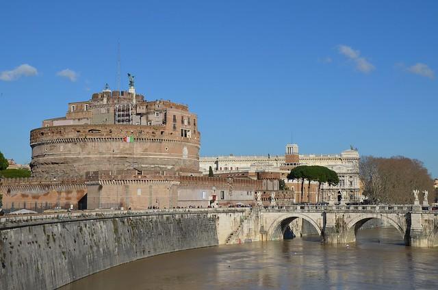 Mausoleum of Hadrian, Rome