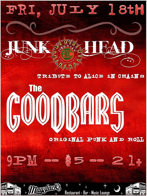 07/18/14 Junkhead/ The Goodbars @ Mayslacks, Minneapolis, MN