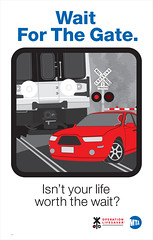 Railroad Crossing Safety PostersRail