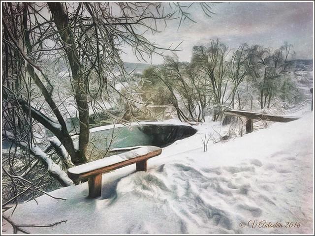 Winter day.
