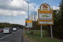 Maryland state line