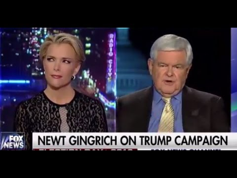 Newt Gingrich UNLOADS On Megyn Kelly Over Donald Trump: 'You Are Fascinated with Sex!'