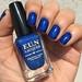 Combat Blue-ts - ChG + How Deep is Your Holo? - F.U.N. Lacquer by carolinaguimaraes