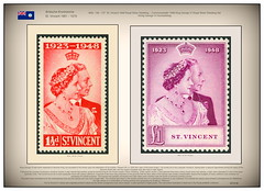 Stamps Royal Silver Wedding – Commonwealth 1948