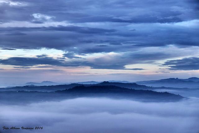 Tra cielo terra e ......nebbia