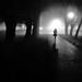 Weekend Project: Foggy night walk 3 by Thiophene_Guy