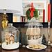 Gingerbread House Terrarium/Snowglobes by Heath & the B.L.T. boys