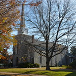Christ Church in fall