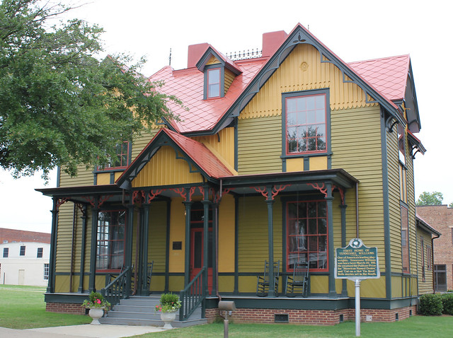Tennessee Williams' Childhood Home, Columbus MS