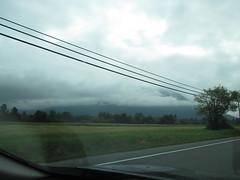 Mt. Si in mist