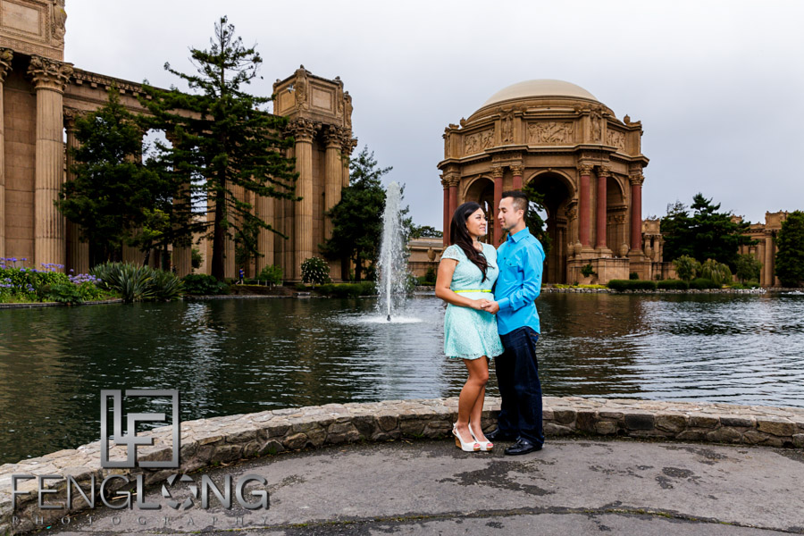 Recent Work Hang Bory S Engagement Session Palace Of Fine Arts