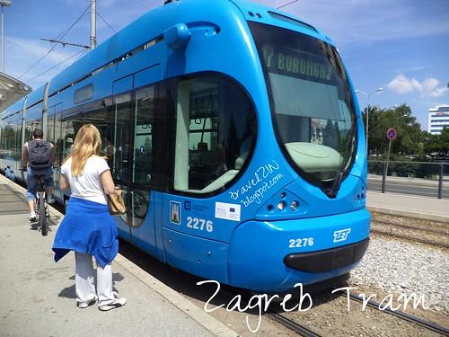 Zagreb tram by zannnielim