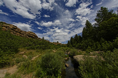 Cherry Creek in Castlewood Canyon