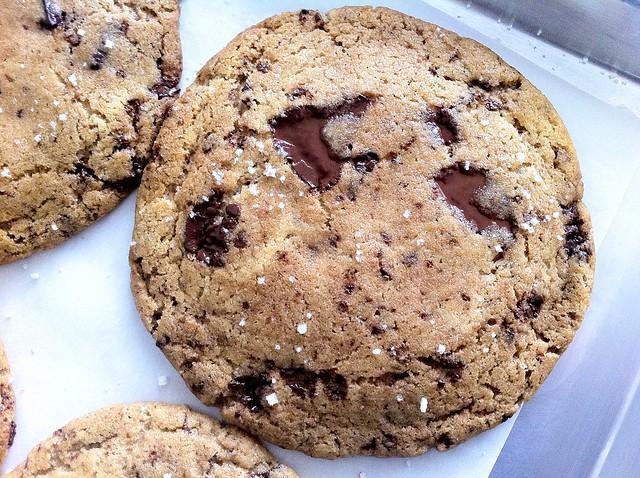 Baked Cookies, Closeup