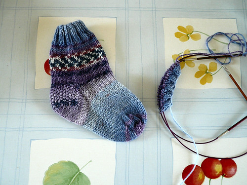 Second sock cuff