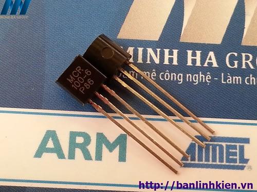 MCR100-6 TO92 0.8A 400V