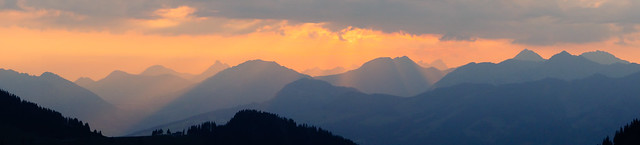 Panorama after sunrise