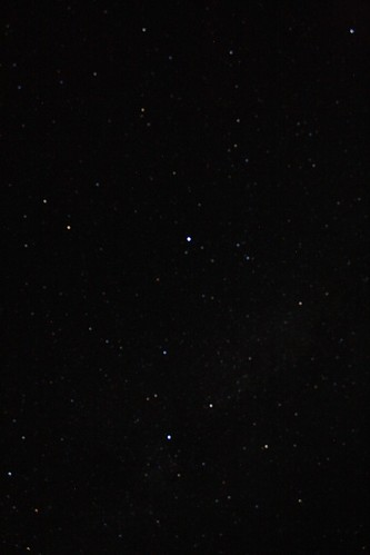 Did you know there are stars up there?